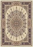 Tapis Oriental, 200x300 cm, laine, densité 1 000 000 nœuds par mètre carré, beige, brun !!! (200_x_300)