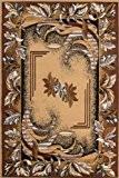 Tapis pas cher pour salon SAHARA beige 160x230 en Polypropylène de Lalee