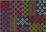Tapis Pattern book 140x200 - Dark brown