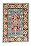 Tapis Persan Tapis traditionnel Tapis de couloir bleu 300x 80cm 9,8x 2.6m Oriental moderne