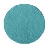 Tapis Rond Pablo (diam. 70cm) Bleu - Monbeautapis - Polypropylène