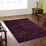 Tapis Shaggy Spider - violet - 70 x 140 cm