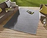 Tapis/Tapis Moderne Tapis Salon d'extérieur–pour balcon ou terrasse–Convient pour Outdor dans et–la star à vos meubles de jardin