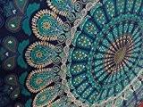 Tapisserie murale unique simple à suspendre Mandala Art Decor tapisseries Hippie ou Résidence 213,4x 139,7cm aakriti Galerie
