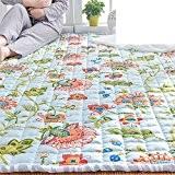 tatami rampants pur coton mat/ ménage chevet tapis pour enfants/Tapis mur à mur rectangulaire de chambre à coucher-A 110x150cm(43x59inch)