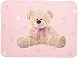 Teddy Rose léger Tapis 70x 95cm doux pour enfant Chambre d'enfant Tapis
