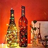 Tefamore 3M 40 LED Chaîne Nuit Lumière Chaud Décoration de mariage de Noël Fée Lampes
