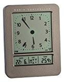 TFA Dostmann 60.2530 Réveil radio-piloté avec affichage de la température (anthracite)