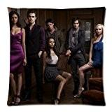 The Vampire Diaries Custom Zippered Coussin Taie d'oreiller 45,7x 45,7cm deux côtés