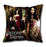 The Vampire Diaries iCustomonline Taie d'oreiller carrée Housse de coussin 40 x 40 cm/16 x 40,6 cm
