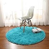 Thibaude Indoor Chambre, salon, rond, couleur, moquette,Tapis de yoga Tapis de sol, tapis de sol ( couleur : 2 , ...