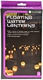 Thumbs Up WATLAN10 Lot de 10 lanternes d'eau + 10 bougies de chauffe-plat