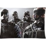 Tom Clancy S Rainbow Six Siege Pillowcases Custom Pillow Case Cushion Cover 20 X 30 Inch Two Sides