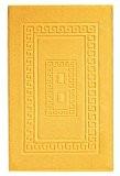 Torino Tapis de salle de bain en éponge 60X120 cm - GIALLO - JAUNE