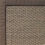 Toulemonde Bochart Collection Matières & Couleurs Modèle Jonc Horizon Tapis Jonc de Mer Tabac 230 x 160 cm