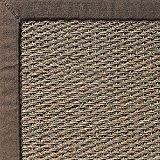 Toulemonde Bochart Collection Matières & Couleurs Modèle Jonc Horizon Tapis Jonc de Mer Tabac 290 x 200 cm