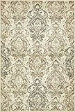 traditionnel Sahara Zone Tapis, beige, 4 x 6