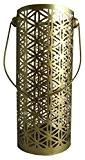 Trimontium tl12597lanternes pour bougies chauffe-plat Grande Fleur de vie en métal, Hauteur?: env. 23cm, Doré