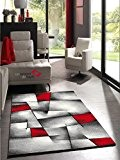 Un Amour de Tapis 30047 Brillance Ultimate Tapis de Salon Moderne Polypropylène Rouge 120 x 170 cm