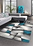 Un Amour de Tapis 30054 Brillance Ultimate Tapis de Salon Moderne Polypropylène Bleu 200 x 290 cm