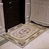 Upper-progression porte tapis paillasson Tapis Tapis de porte coulissante de porte d'entrée hall salon Tapis Tapis,160x230,18 beige