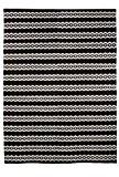 Vallila Interior Leopardi Tapis de couloir 100% coton Noir/blanc 140x200cm