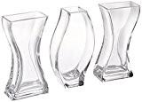 Vase en verre Sable Cérémonie pour les mariages Ensemble de 3
