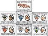 Vatikanstadt 748-754 (complète.Edition.) 1979 État de la Cité du Vatican (Timbres pour les collectionneurs)