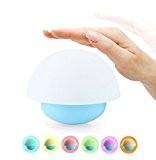 Veilleuse Lampe de Chevet Tactile Multi Color Night Light de Forme Champignon Culbuto Jouet Couleur Changeable Lampe de Nuit pour ...