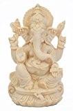 Vendeur de confiance spéciale 15,2cm fait main Ganesha Ganesh statue en marbre Home Decor Art Best cadeau