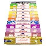 Véritable Satya Sai Baba–Nag Champa variété Mix Ensemble cadeau AA 12x 15g Boîtes d'encens, comprend Nag Champa, Super Hit, Eastern ...