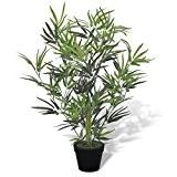vidaXL Bambou artificiel avec pot 80 cm