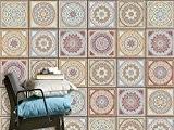 Vinyle adhésif - Sticker Autocollant | embellir carreaux ciment de salle de bain et dosseret cuisine | Revêtement mural pour ...