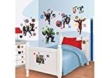 Walltastic 43138 Avengers Rassemblement Kit de Décoration Vinyle Multicolore 37,5 x 8 x 18 cm