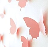 Walplus  Sticker mural 3D en forme de papillon