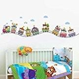 Walplus Sticker mural WS5014 Numéro de cirque, multicolore