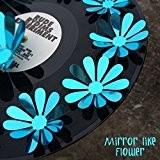 Walplus Stickers muraux effet miroir bleu 3D Fleurs 60x 80cm Sticker mural amovible en vinyle autocollant murale Art Stickers Décoration ...