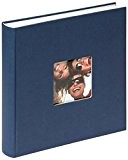 Walther, Fun, Album De Photos, FA-208-L, 30x30 cm, 100 Pages Blanches, Bleu