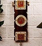 Warli Unravel Inde & Dhokra Fusion de mur