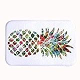 """Warrantyll rétro décoratifs Corail Polaire coloré Ananas Fruits de bain Tapis d'entrée Paillasson, #05, 20"""" x 32""""(50 x 80cm)"""
