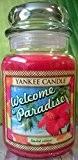 Welcome to Paradise Yankee Candle Bougie 22 oz Grande bougie en pot