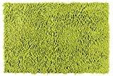 Wenko 22338100 Chenille Tapis de Bain Polyester/PVC Vert Anis 50 x 8 x 8 cm