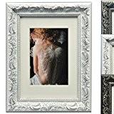 WOLTU BR9758 Cadres photo, collage de photo, cadre en bois, en carton arrière, façade en verre, pour agir et suspendus ...