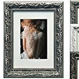 WOLTU BR9770 Cadres photo, collage de photo, cadre en bois, en carton arrière, façade en verre, pour agir et suspendus ...