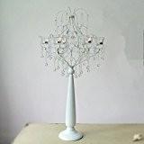 XG perles de cristal de fer Continental Candlestick Décoration atmosphère artisanat décoratif
