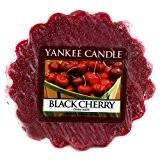 Yankee Candle 1129757E Tartelette en cire senteur Cerise noire - Rouge foncé