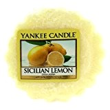 Yankee Candle 1230643 Tartelette Citron Sicilien Jaune