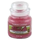 Yankee Candle 1230725E Bougies jarres petit parfumée Fruit du dragon rose Verre Rouge 6,3 x 6 x 5,3 cm