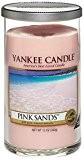 Yankee Candle 1230796 Bougie Colonne Parfumée Sable Rose