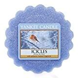 Yankee Candle 1240812E Tartelette en Cire Pointes de Glace Bleu